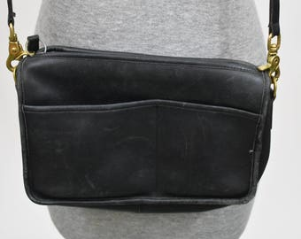 Vintage COACH USA Black crossbody Bag
