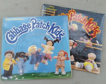 Cabbage Patch Calendars 1980s sealed unopened