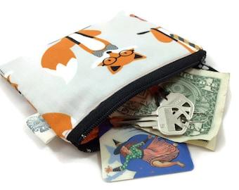 Coin Purse Coin Bag Small Cosmetic Clutch Fantastic Fox