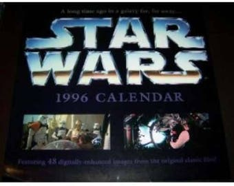 Star Wars 1996 12 Month Calendar [Calendar] [Jan 01, 1994]