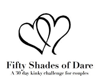 Fifty Shades of Dare – a kinky game for couples
