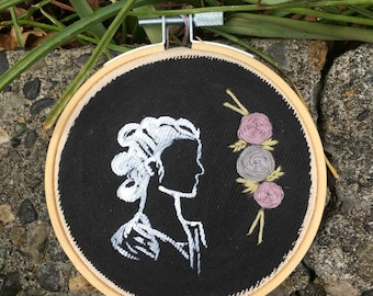 Rey embroidery wall hanging