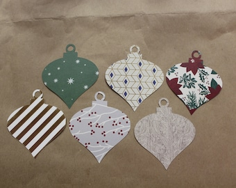 Ornament Gift Tag Set