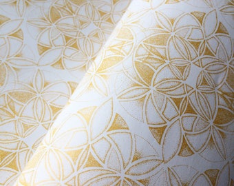 Dotwork Gold Wrapping Paper