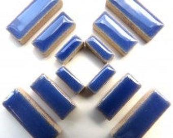 Ceramic Rectangle - Delphinimum - 50g / 1.75 oz(approx. 60 pieces)