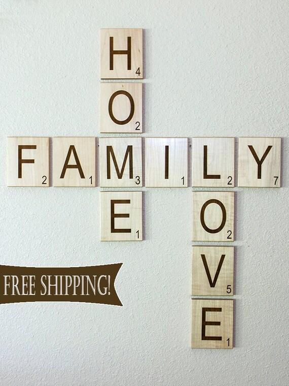 Scrabble Letters Large Individual Scrabble Tiles Crossword