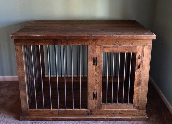 Custom Dog Kennel Furniture Dog Crate Furniture Hinged