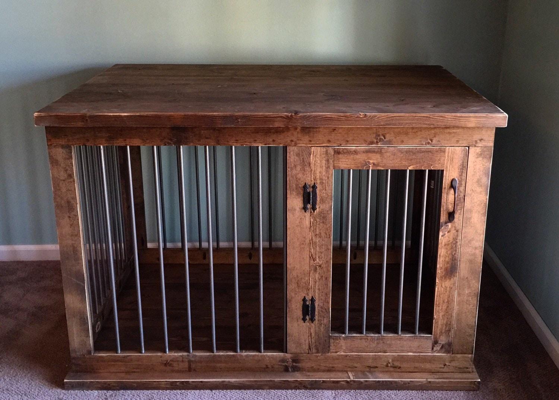 Custom Dog Kennel Furniture Dog Crate Furniture Hinged