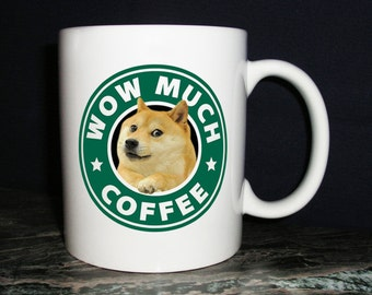 Wow Much Doge Coffee Mug