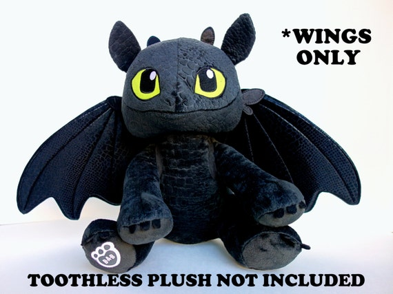 Toy Dragon Wings Upgraded Wings For Build-A-Bear Toothless-6506