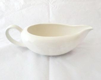 Signature Japan White Porcelain Gravy Boat