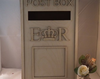 Post box and letter boxes for weddings and special occasions. Personalised for you and your special day.