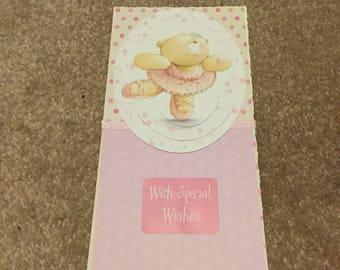 Handmade forever friends card