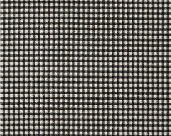 Country Check Gingham Black/White  Fabric, Premier Prints Printed Decorative Home Decor