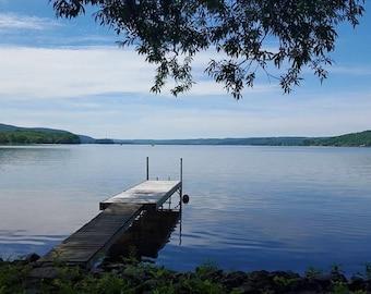 Serene Canadarago Lake