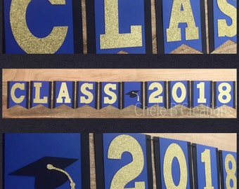 Class of 2018 Graduation Banner for Graduation Party