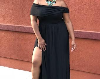 Hailey, Plus Size Dress