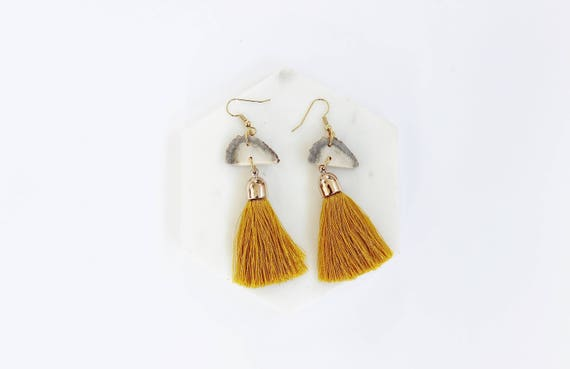Antler & Bohemian Tassel Earrings II