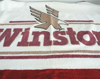 Winston Cigarettes Terry Beach Towel
