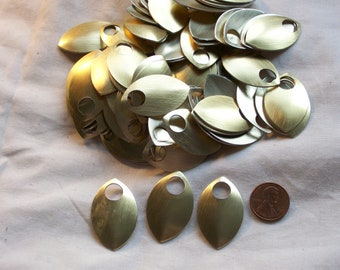 Dragon Scales - Aluminum - Large - Gold - Sets of 100