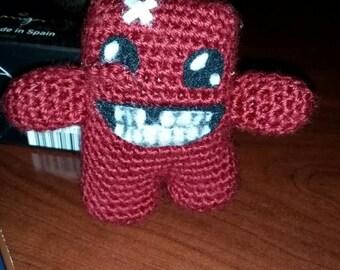 Super Meat Boy - Crochet