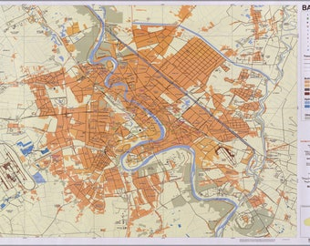 Poster, Many Sizes Available; Map Of Baghdad Iraq 2006