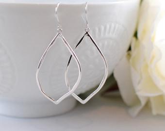 The Jolie Earrings - Silver