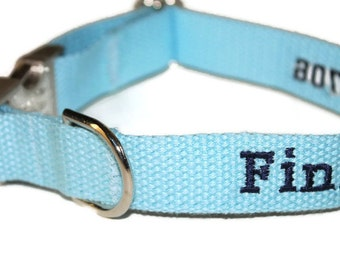 Custom Dog Collars Name Dog Collar Phone Number Dog Collar Boy Dog Collar Sky Blue Dog Collar Girl Dog Collar Blue Dog Collar Pet Collar