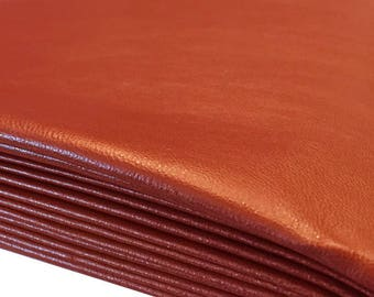 Nooteboom Artificial Leather reddish brown