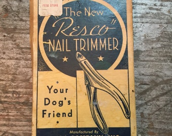 Vintage The Resco Nail Trimmer Dog Grooming Tecla Company