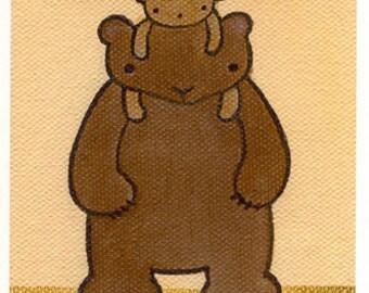 Rad Dads cute animals card set