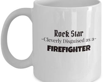 Firefighter Gift Mug | Coffee Mug for Fireman