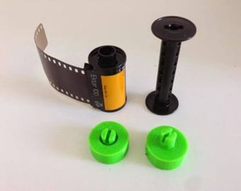 2X 35mm Film to 120 Spool Adapters