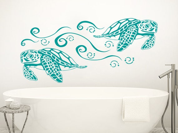 Wall Decals Sea Turtles Animals Fauna Turtle Vinyl Decal