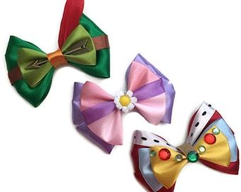 Robin Hood Inspired Disney Hair Bow Robin Hood, Maid Marian, & Prince John Hair Bow