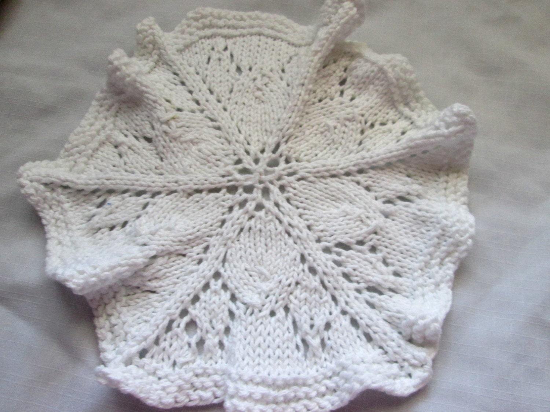 Round dishcloth knit pattern knit doily pattern lace washcloth round dishcloth knit pattern knit doily pattern lace washcloth knitting pattern lacy ruffled knit dishcloth pattern dt1010fo