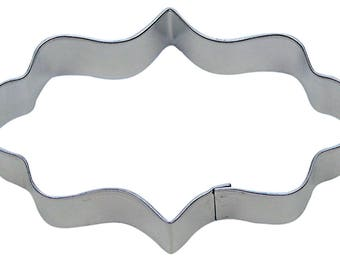 Elongated Frame Plaque 4.75'' Cookie Cutter