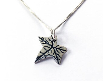 """Sterling Silver IVY Necklace 18"""" chain"""
