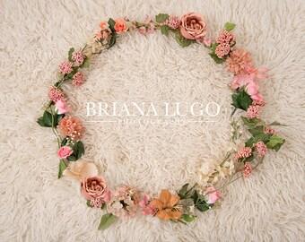 Digital floral prop