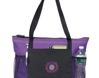 Sigma Kappa Venture Emblem Tote Bag