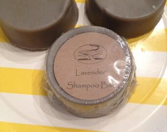 Lavender or Rosemary Honey Hemp Shampoo Bar