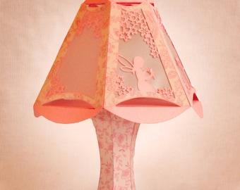 3D SVG Fairy Design Table Lamp Digital download