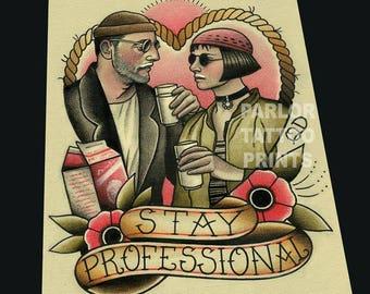 Stay Professional Tattoo Flash
