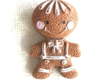 1972 Ginger Bread Man Brooch