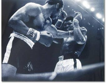 Ali and Norton Black And White
