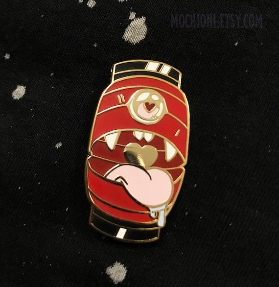 Chochin obake ghost lantern yokai enamel pin standard grade b grade