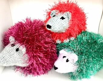 Knitted Hedgehog