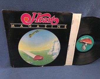 """Vintage, Heart - """"Magazine"""", Vinyl LP Record Album, Hard Rock, 1978 Original First Press, Heartless, Without You, I've Got The Music In Me"""