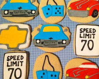 Custom Car Enthusiast Cookies