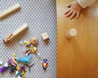 Wooden Toys / Montessori Toys / Balance Board / Rocker Board / Waldorf Toy / Gift for Kids / Yoga Board / Curvy Board / Toodler Toy / Picker